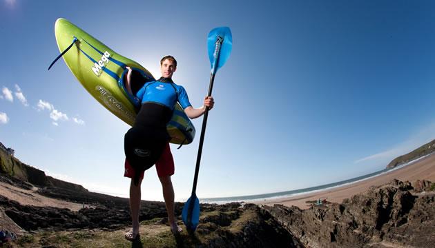 Philip Watson British Surf Kayak Champion - Gallery